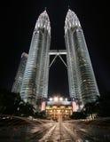 Torri gemelle di Petronas Fotografia Stock Libera da Diritti