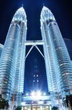 Torri gemelle di Petronas - KLCC Fotografia Stock Libera da Diritti
