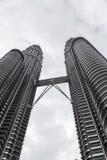 Torri gemelle di Petronas, Kuala Lumpur, Malesia Immagini Stock