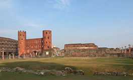 Torri Palatine, Turin Royalty Free Stock Images