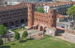 Torri Palatine Turin Stock Images