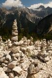 Torri Slovenia della roccia fotografia stock
