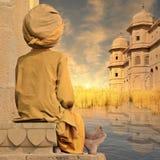 Torri sul Gange Fotografia Stock Libera da Diritti