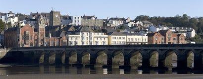 Torridge del fiume di Bideford Devon Fotografia Stock Libera da Diritti
