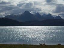 Torridon mountain range in Scottish Highlands, UK Stock Image