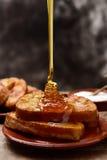 Torrijas, dessert espagnol type pour Lent et Pâques Photo libre de droits