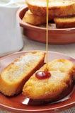 Torrijas, dessert espagnol typique pour Lent et Pâques Photo stock