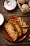 Torrijas, dessert espagnol typique pour Pâques Images libres de droits