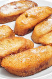 Torrijas, typical spanish dessert for Lent and Easter Royalty Free Stock Photo