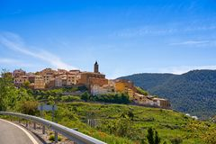 Torrijas village in Valencia province royalty free stock photos