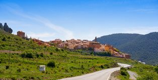 Torrijas village in Valencia province royalty free stock photography