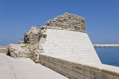 Torrione St. Mary. Monopoli. Apulia. Royalty Free Stock Photo