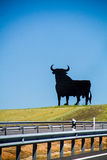 Torro. A bull billboard along the road in Spain Royalty Free Stock Image