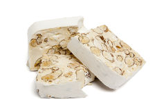 Torrone nougat Royalty Free Stock Photography