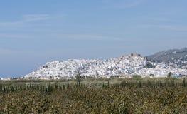 Torrox by nära malaga i Spanien Royaltyfri Fotografi