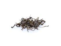 Torrt te på vit bakgrund arkivbilder