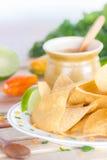 Torrtilla-Chips Lizenzfreie Stockfotografie