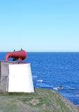 The Torry Coo: disused foghorn at Girdleness, Aberdeen, Scotland Stock Photo