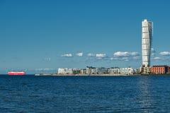 Torse de rotation à Malmö, Suède Photographie stock libre de droits