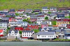 Torshavn,斯特莱默岛,法罗群岛 库存图片