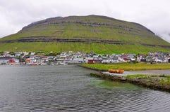 Torshavn,斯特莱默岛,法罗群岛 免版税图库摄影