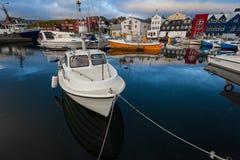 Torshavn,法罗岛 免版税库存图片