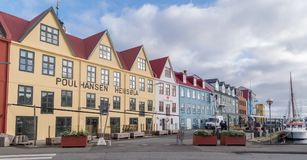 Torshavn,法罗群岛,丹麦 库存图片