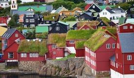 Torshavn fotografie stock