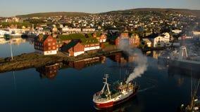 Torshavn Stockbild