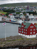 Torshavn (Färöer) Stockbild