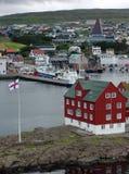Torshavn (isole faroe) immagine stock