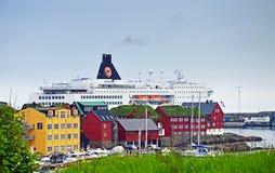 Torshavn, les Iles Féroé Photo stock