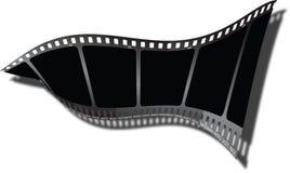 Torsion de film d'ombre Images libres de droits