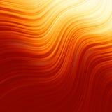 Torsione astratta di incandescenza con flusso dorato. ENV 8 Fotografia Stock Libera da Diritti