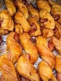 Torsione del bacon delious fotografia stock libera da diritti