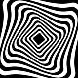 Torsione, forma a spirale con i cerchi Elemento punteggiato girante Sommario Fotografie Stock Libere da Diritti