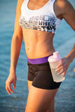 Torso of athletic fitness woman Stock Image