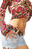 Torso of a beautiful girl Stock Photo