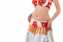 Torso of a Bellydancer Royalty Free Stock Photo