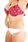 Torso in bikini. Royalty Free Stock Photography