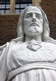 Torso / Bust of a Religious Jesus statue royalty free stock images