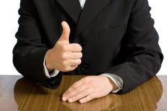 Torso del hombre de negocios Imagen de archivo