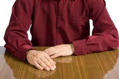 Torso del hombre de negocios en una camisa Imagenes de archivo
