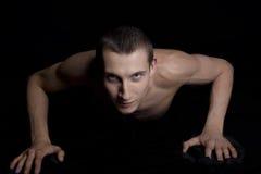 Torso do macho do músculo Fotografia de Stock