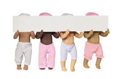 Torso of Four Doll Stock Photography