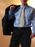 Torso joven del hombre de negocios Fotografía de archivo libre de regalías