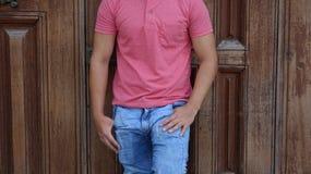 Torso ou cintura masculina Foto de Stock