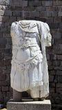 Torso sculptures archaeological monuments, Bergama, Turkey stock photo