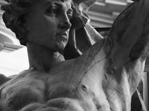 Torso young god Zeus (fragment of statue) Royalty Free Stock Photography
