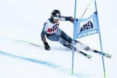 TORSTI Samu in Audi Fis Alpine Skiing World-Kop Stock Afbeeldingen